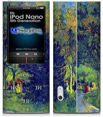 iPod Nano 5G Skin - Vincent Van Gogh Allee in the Park