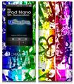 iPod Nano 5G Skin - Rainbow Graffiti