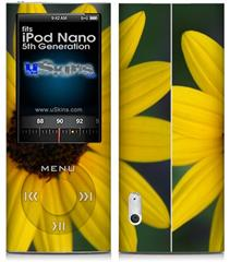 iPod Nano 5G Skin - Yellow Daisy