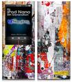 iPod Nano 5G Skin - Abstract Graffiti