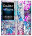 iPod Nano 5G Skin - Graffiti Splatter