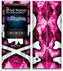 iPod Nano 5G Skin - Pink Bow Princess
