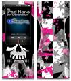 iPod Nano 5G Skin - Scene Kid Girl Skull