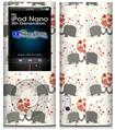 iPod Nano 5G Skin - Elephant Love