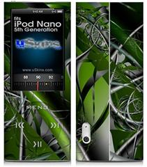 iPod Nano 5G Skin - Haphazard Connectivity