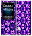iPod Nano 5G Skin - Daisies Purple