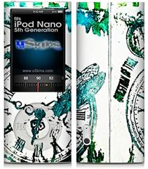 iPod Nano 5G Skin - Question of Time
