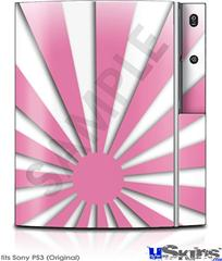 Sony PS3 Skin - Rising Sun Japanese Pink