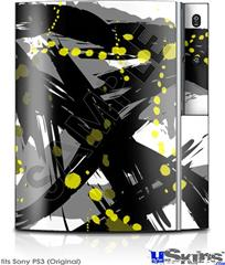 Sony PS3 Skin - Abstract 02 Yellow