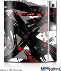 Sony PS3 Skin - Abstract 02 Red