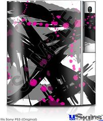 Sony PS3 Skin - Abstract 02 Pink