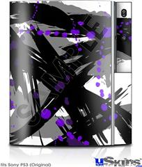 Sony PS3 Skin - Abstract 02 Purple