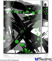 Sony PS3 Skin - Abstract 02 Green