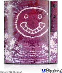 Sony PS3 Skin - Tie Dye Happy 100