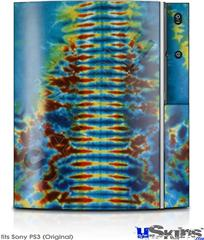 Sony PS3 Skin - Tie Dye Spine 106