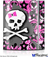 Sony PS3 Skin - Pink Bow Skull