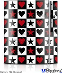 Sony PS3 Skin - Hearts and Stars