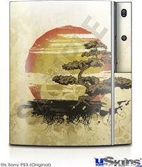 Sony PS3 Skin - Bonsai Sunset