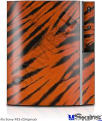 Sony PS3 Skin - Tie Dye Bengal Side Stripes