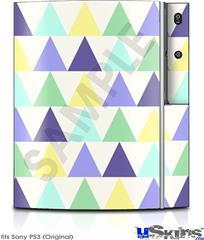 Sony PS3 Skin - Triangles Cool