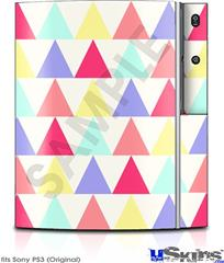 Sony PS3 Skin - Triangles Light