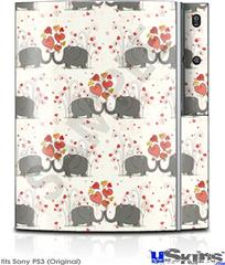 Sony PS3 Skin - Elephant Love