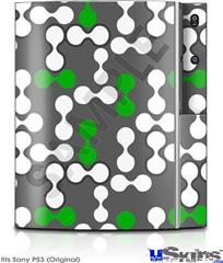 Sony PS3 Skin - Locknodes 04 Green
