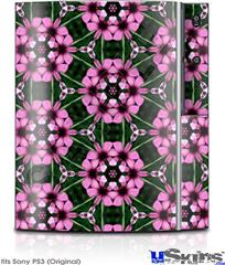 Sony PS3 Skin - Floral Pattern Pink