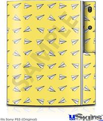 Sony PS3 Skin - Paper Planes Yellow