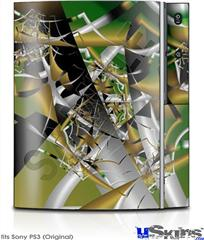 Sony PS3 Skin - Shatterday