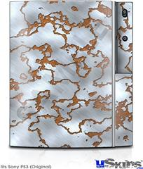 Sony PS3 Skin - Rusted Metal