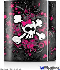 Sony PS3 Skin - Girly Skull Bones
