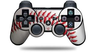 Sony PS3 Controller Decal Style Skin - Baseball (CONTROLLER NOT INCLUDED)