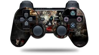 Sony PS3 Controller Decal Style Skin - Exterminating Angel (CONTROLLER NOT INCLUDED)