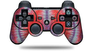 Sony PS3 Controller Decal Style Skin - Tie Dye Peace Sign 105 (CONTROLLER NOT INCLUDED)