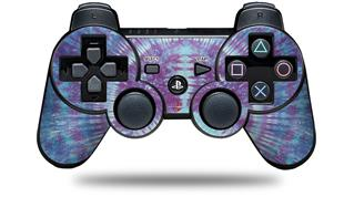 Sony PS3 Controller Decal Style Skin - Tie Dye Peace Sign 106 (CONTROLLER NOT INCLUDED)