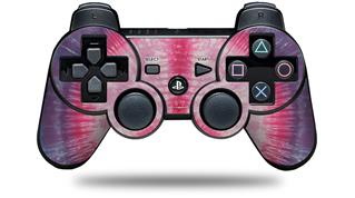 Sony PS3 Controller Decal Style Skin - Tie Dye Peace Sign 108 (CONTROLLER NOT INCLUDED)