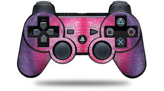 Sony PS3 Controller Decal Style Skin - Tie Dye Peace Sign 110 (CONTROLLER NOT INCLUDED)