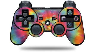 Sony PS3 Controller Decal Style Skin - Tie Dye Swirl 102 (CONTROLLER NOT INCLUDED)