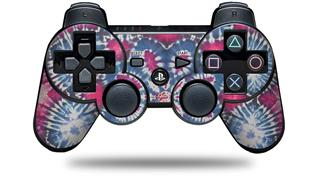 Sony PS3 Controller Decal Style Skin - Tie Dye Star 102 (CONTROLLER NOT INCLUDED)