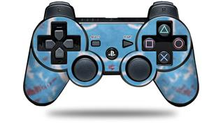 Sony PS3 Controller Decal Style Skin - Tie Dye Happy 101 (CONTROLLER NOT INCLUDED)