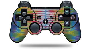 Sony PS3 Controller Decal Style Skin - Tie Dye Spine 102 (CONTROLLER NOT INCLUDED)