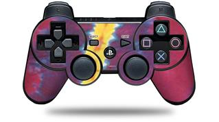 Sony PS3 Controller Decal Style Skin - Tie Dye Spine 105 (CONTROLLER NOT INCLUDED)