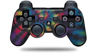 Sony PS3 Controller Decal Style Skin - Tie Dye Swirl 105 (CONTROLLER NOT INCLUDED)