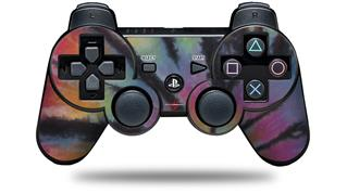 Sony PS3 Controller Decal Style Skin - Tie Dye Swirl 106 (CONTROLLER NOT INCLUDED)