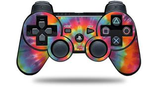 Sony PS3 Controller Decal Style Skin - Tie Dye Swirl 107 (CONTROLLER NOT INCLUDED)
