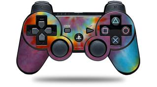 Sony PS3 Controller Decal Style Skin - Tie Dye Swirl 108 (CONTROLLER NOT INCLUDED)