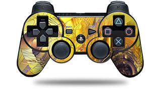 Sony PS3 Controller Decal Style Skin - Golden Breasts (CONTROLLER NOT INCLUDED)