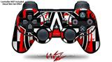 Sony PS3 Controller Decal Style Skin - Star Checker Splatter (CONTROLLER NOT INCLUDED)