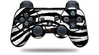 Sony PS3 Controller Decal Style Skin - Zebra (CONTROLLER NOT INCLUDED)